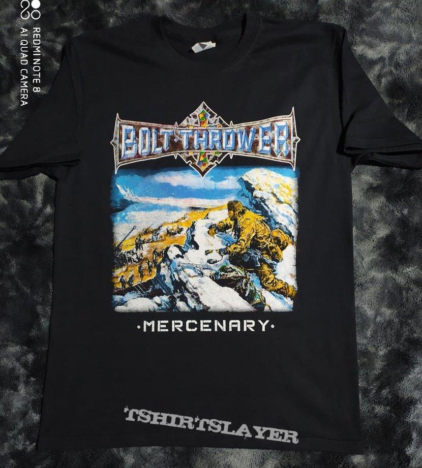 Bolt Thrower Mercenary shirt