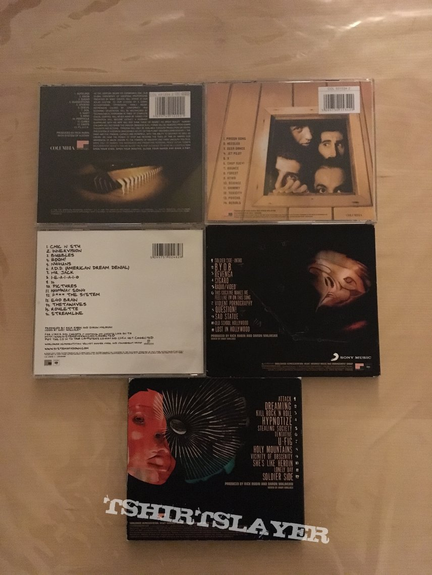 System Of A Down collection