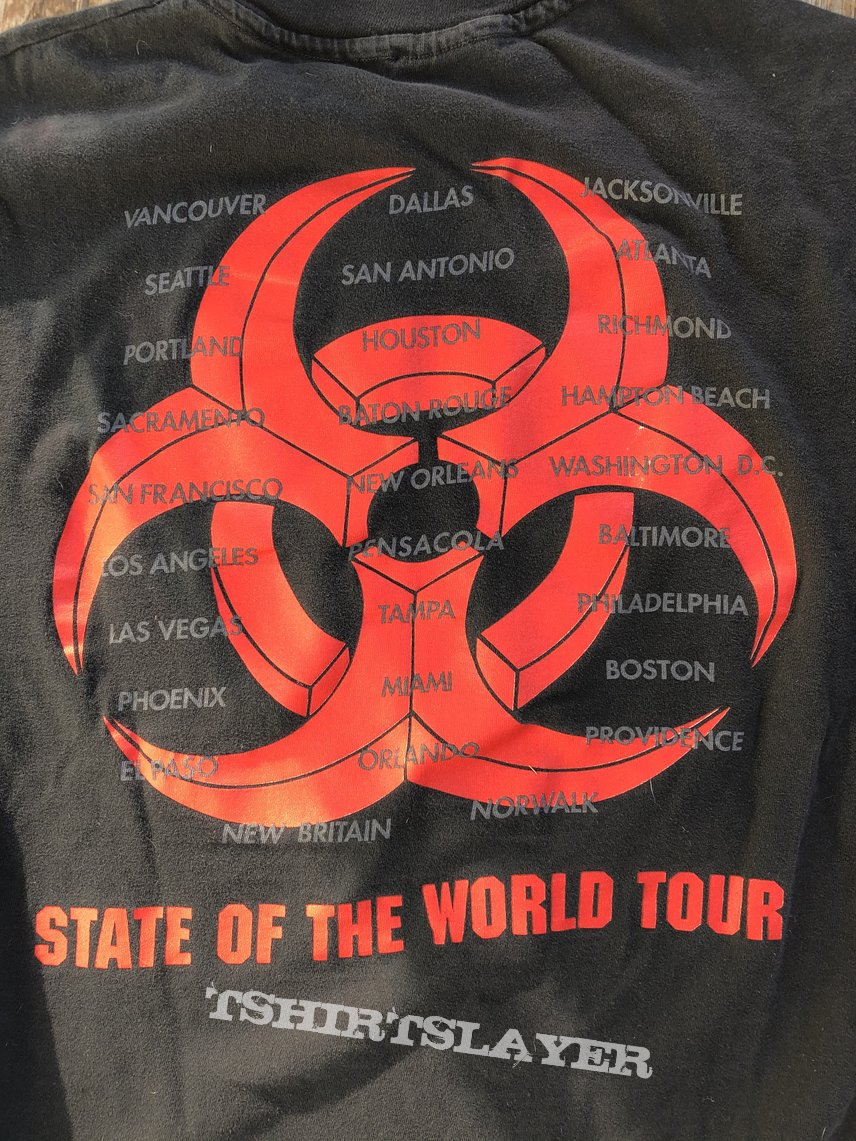 Biohazard - State of the World Tour shirt