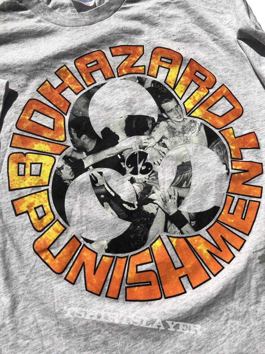 Biohazard Euro Tour tshirt
