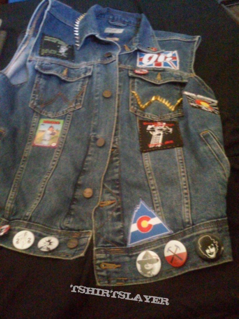 Wrangler Punk / Oi! / Metal Battle Vest / Jacket