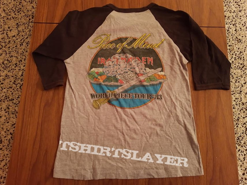 Iron Maiden World Piece Tour 83 baseball