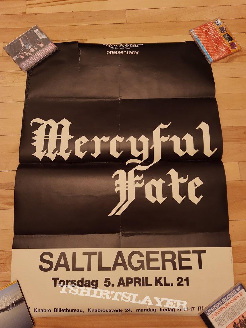 Mercyful Fate Saltlageret 5 april 1984 concert Rare original