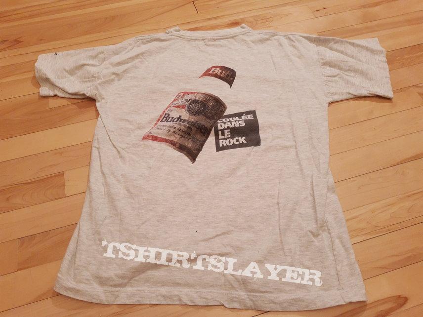 Metallica Danzig Suicidal Tendencies Hippodrome Québec 1994 shirt promo