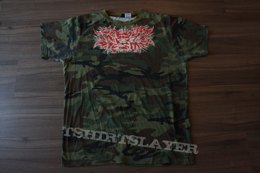 See You Next Tuesday Camo Grindcore Font XL