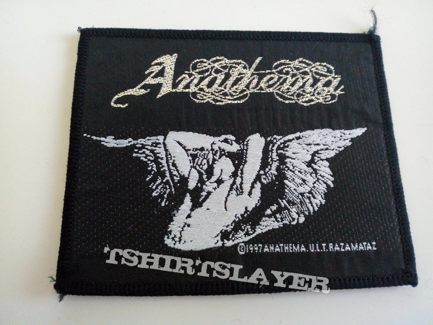 Anathema 1997 patch a291  with silver print