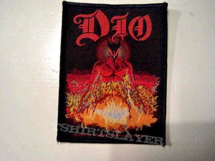 DIO patch 17 new  8X10 cm