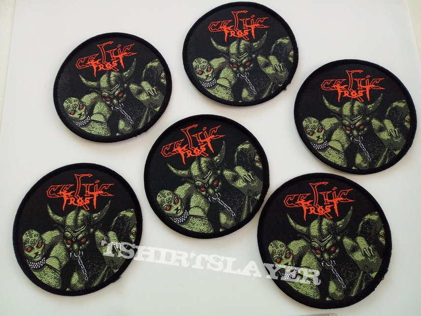 CELTIC FROST very very rare 1985 PATCH C116   9cm new