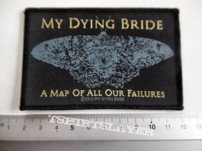 My dying bride patch m263 - 2012