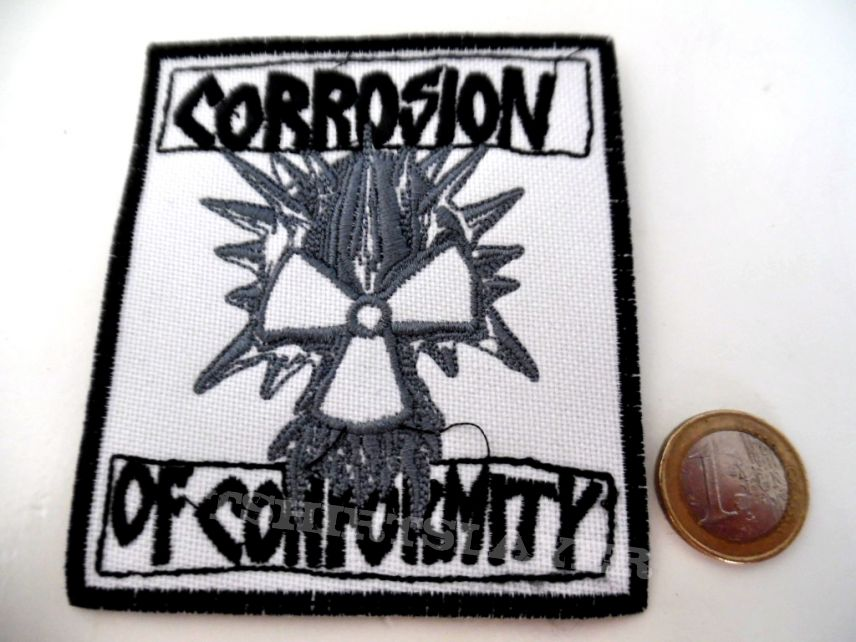 CORROSION OF CONFORMITY patch c140  new  9x10