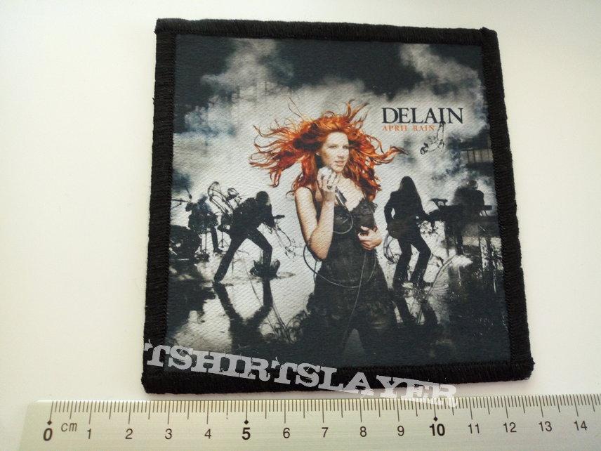 Delain  patch d283 new 10 x 10.5 cm printed