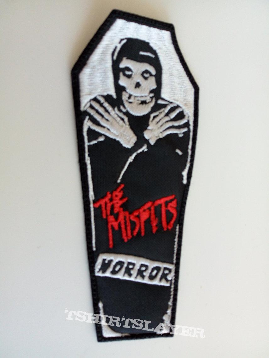 Misfits horror coffin patch 91 --6 x13.5 cm