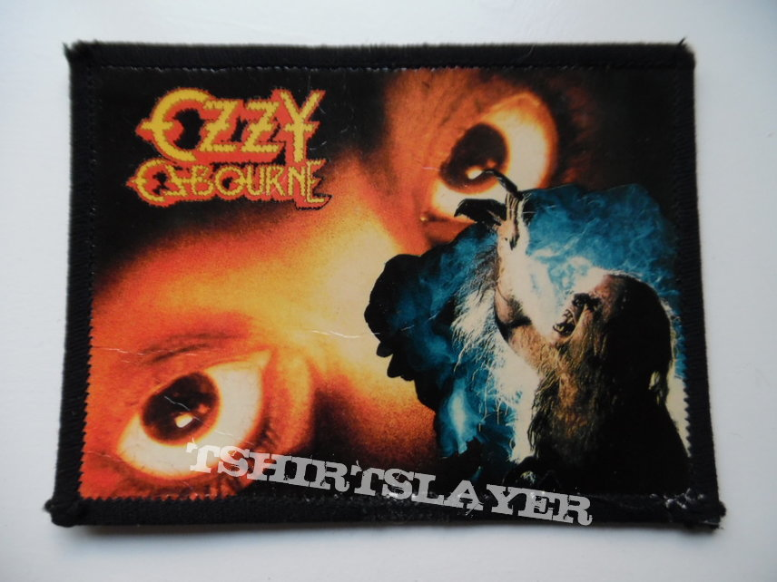 Ozzy Osbourne patch used247 photo print 8x11