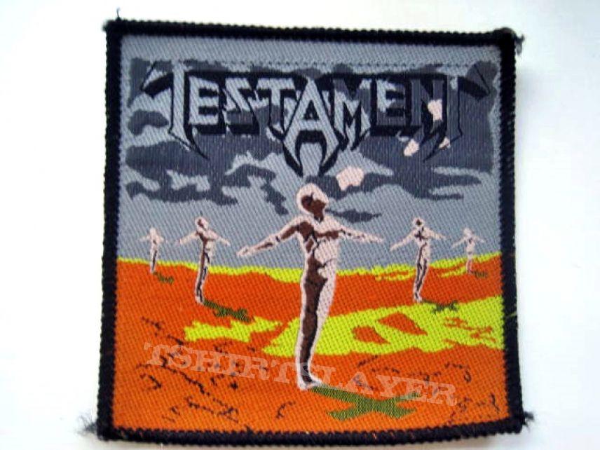 TESTAMENT    patch t17 1989  9x9cm