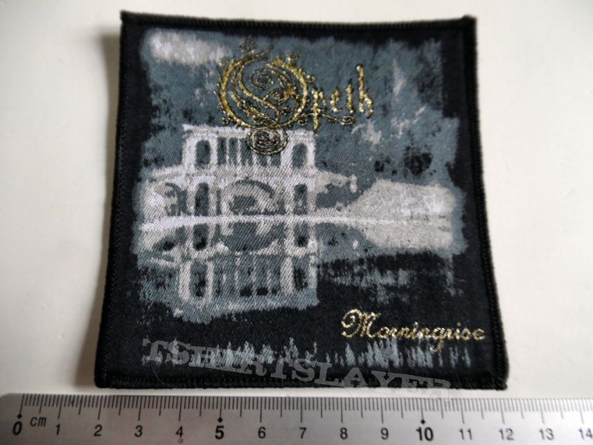 OPETH   patch o74 new golden  print