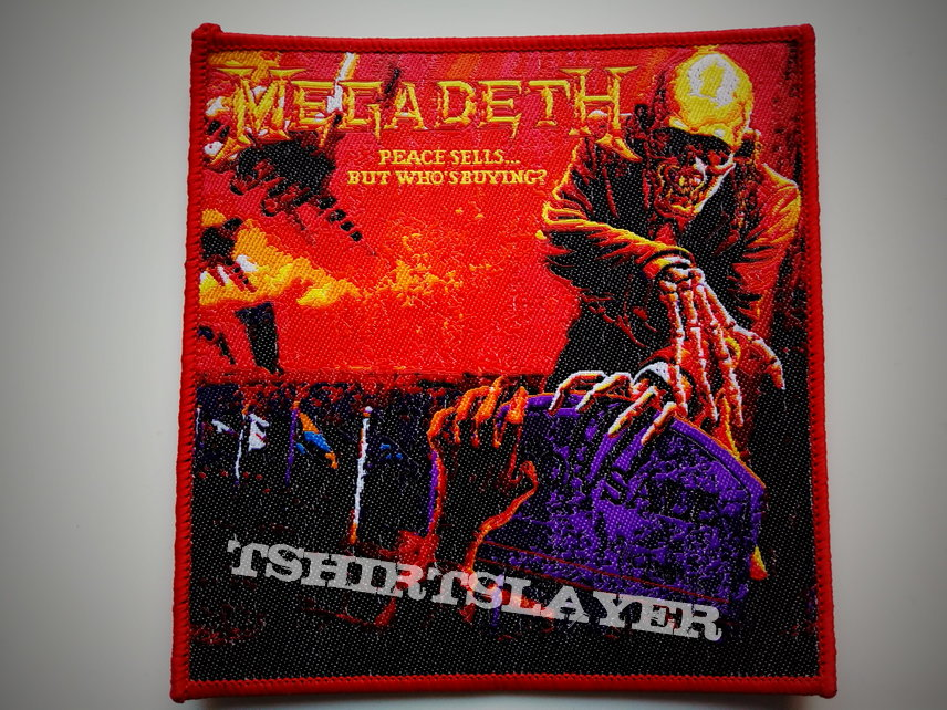 Megadeth peace sells patch 267 rode border