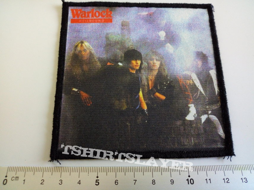 Warlock printed  hellbound patch w132   Doro