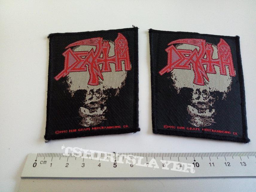 Death vintage 1993  patch d307   collector 6.5x8 cm