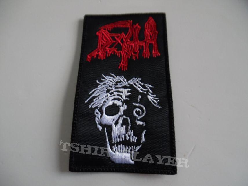 DEATH patch d180  new 6x11 cm