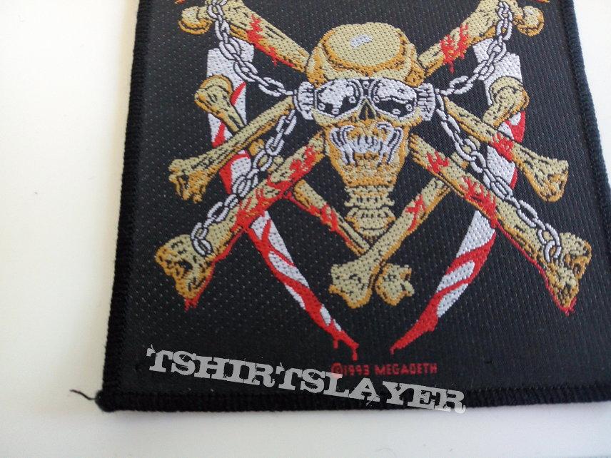Megadeth vintage 1993 patch 75