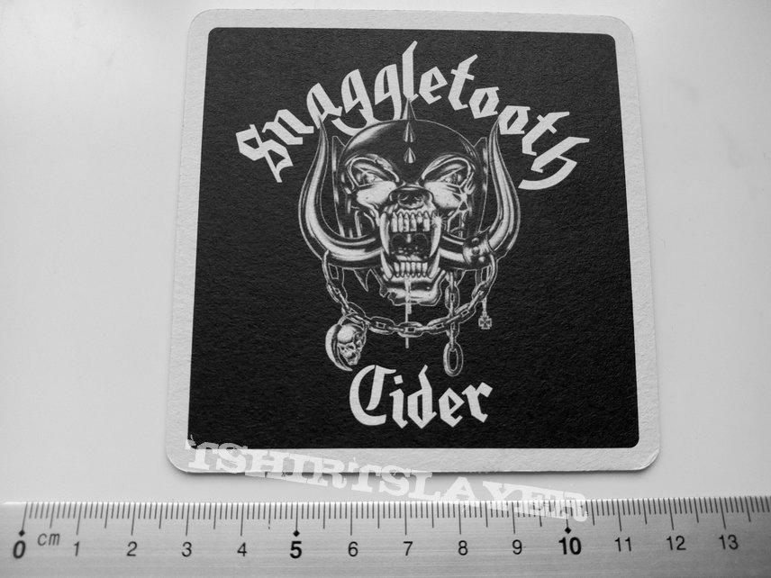 Motorhead  cardoard beer mat  coaster 9.5x9.5 cm