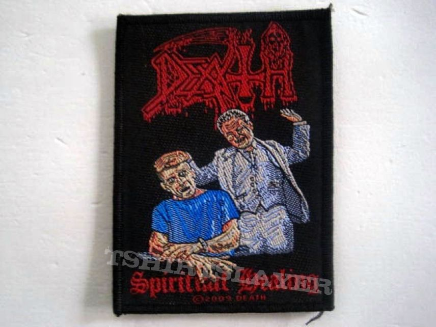 DEATH patch d81 new 2009  spiritual healing 8 x 10 cm