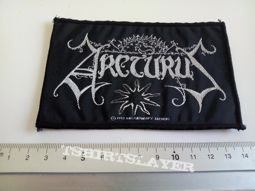 Arcturus 1997 patch a290   with silver print