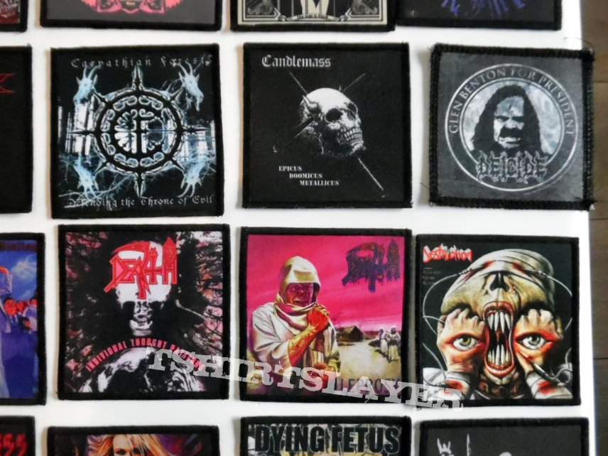 rock/metal patches part 2 photo print new 2,50 € patch
