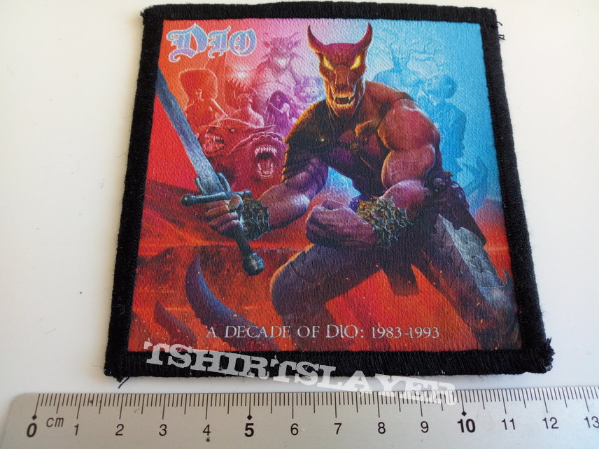 Dio a decade of Dio patch 53 -- 10 x 10.5 cm