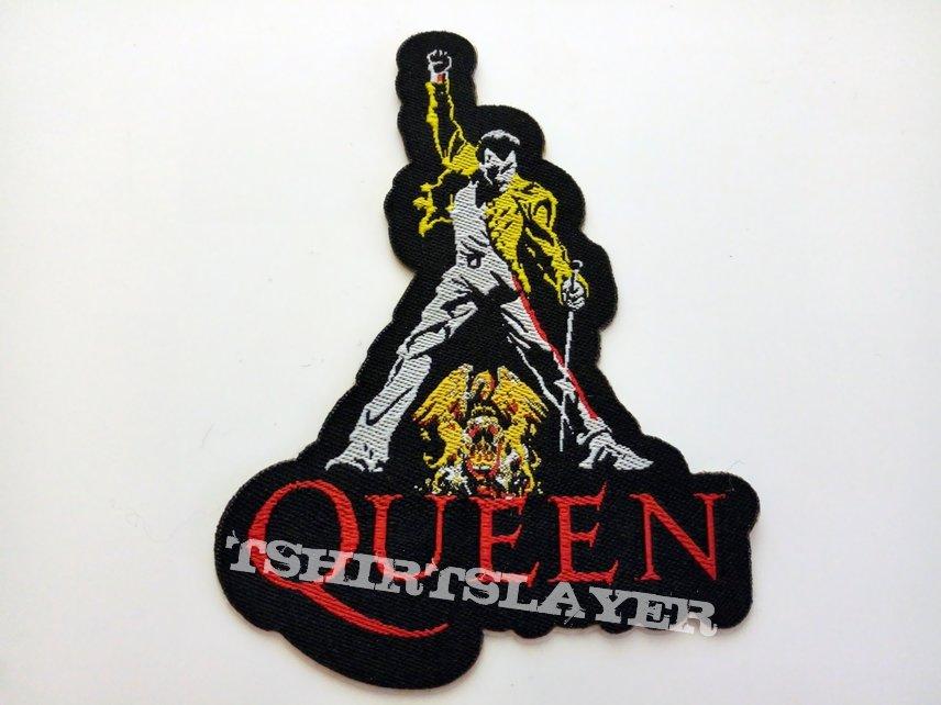 Queen Freddie Mercury shaped patch q24  -- 6.5x9 cm