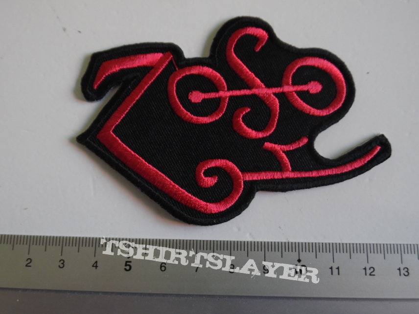 Led Zeppelin shaped patch 57