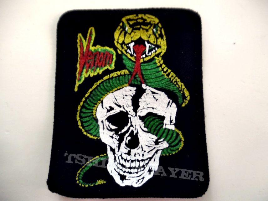 Venom very rare 80's vintage patch v44 brandnew  8x10