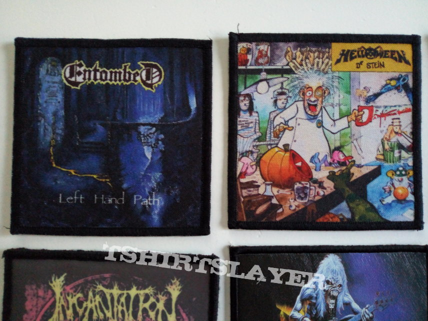 rock/metal emblemen patches part 13 photo print patch 2€ new