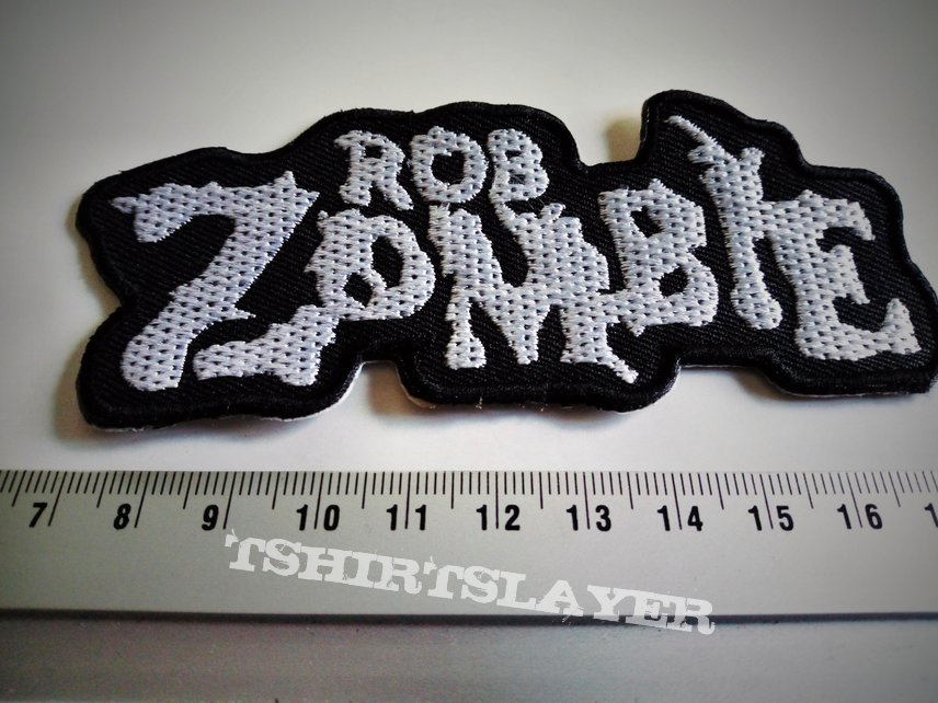 Rob Zombie shaped patch z20  white zombie
