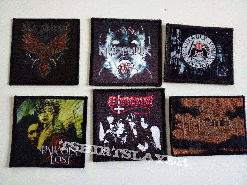 rock/metal emblemen patches part 14 photo print patch 2€ new