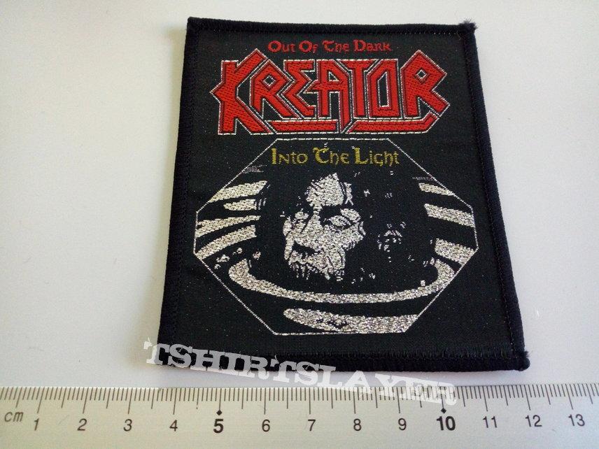 KREATOR vintage 1990 patch k3  - 8.5 x 10 cm
