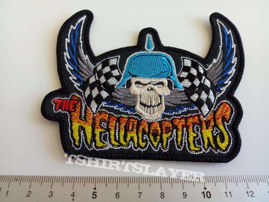 The Hellacopters shaped patch embleem h62