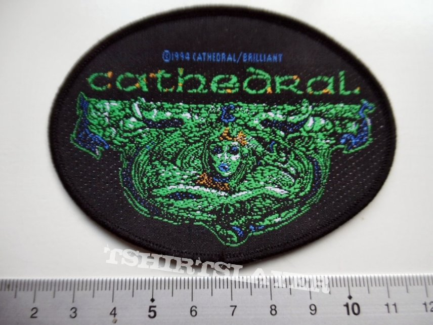 Cathedral  very rare 1994 patch soul sacrifice c181
