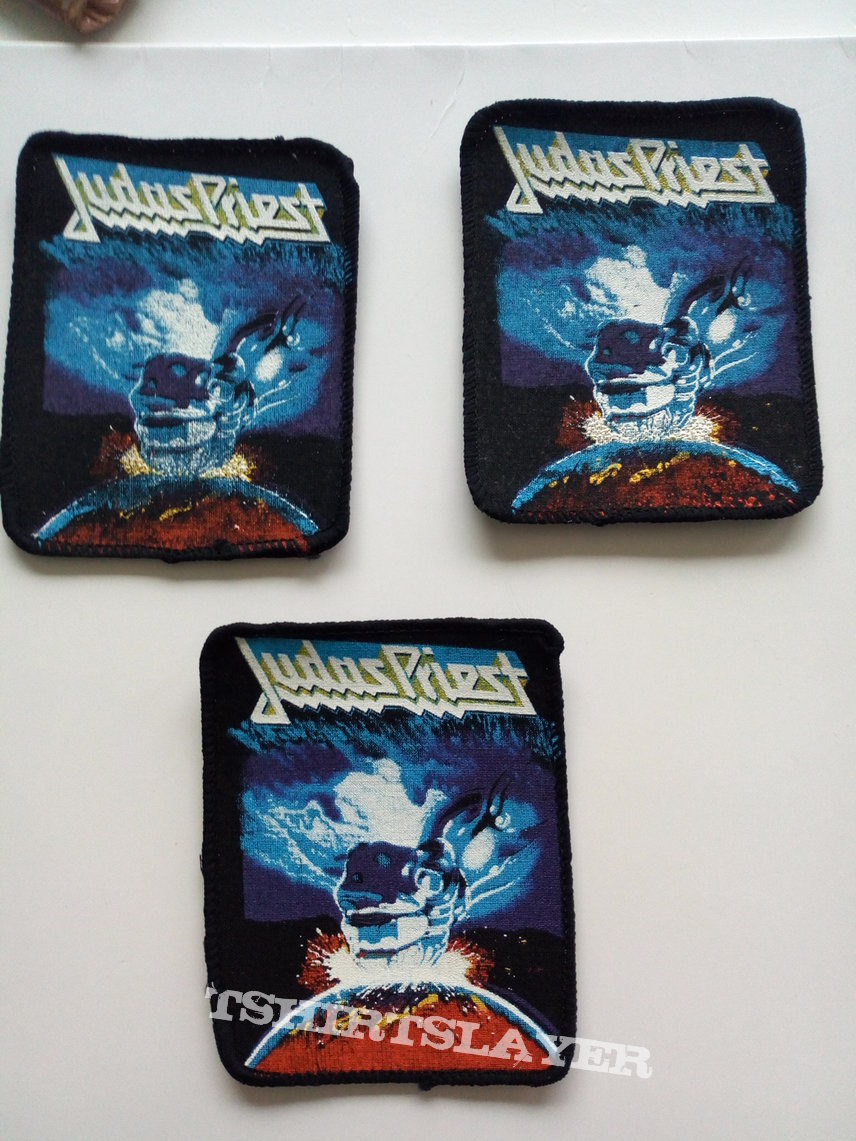 Judas Priest ram it down 80's patch j4