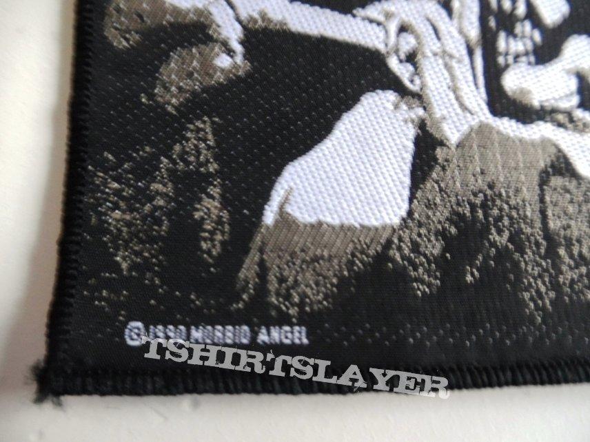 MORBID ANGEL VERY RARE 1990  patch m54 10 x 10 xn brandnew