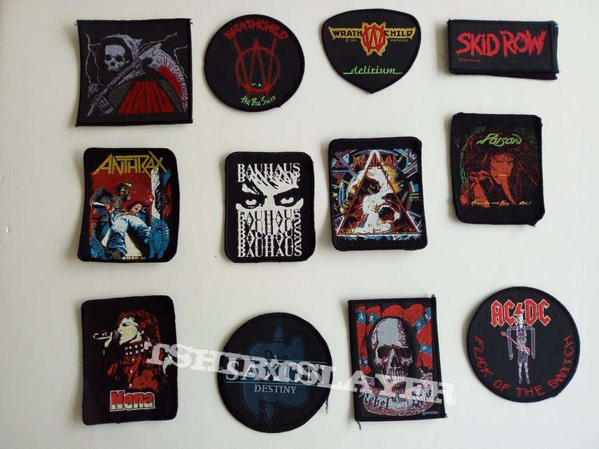 special offer new patches 3€  part 1