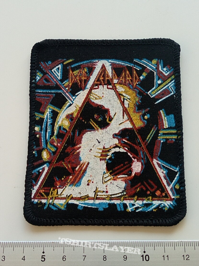 Def Leppard  1987 hysteria patch d181