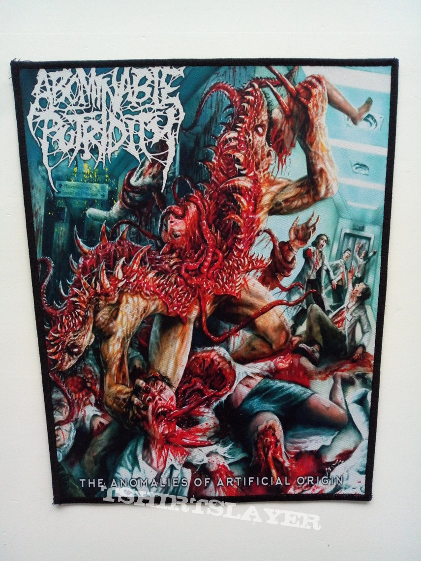 Abominable Putridity  backpatch bp473  patch 30 x 35 x 25 cm
