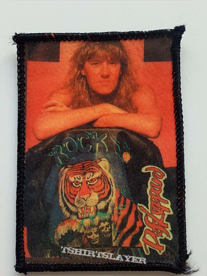Def Leppard old 80's patch