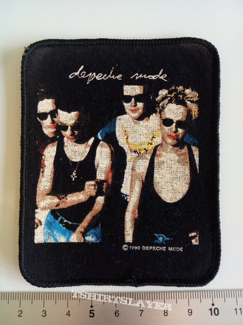 Depeche Mode official 1990 patch d243
