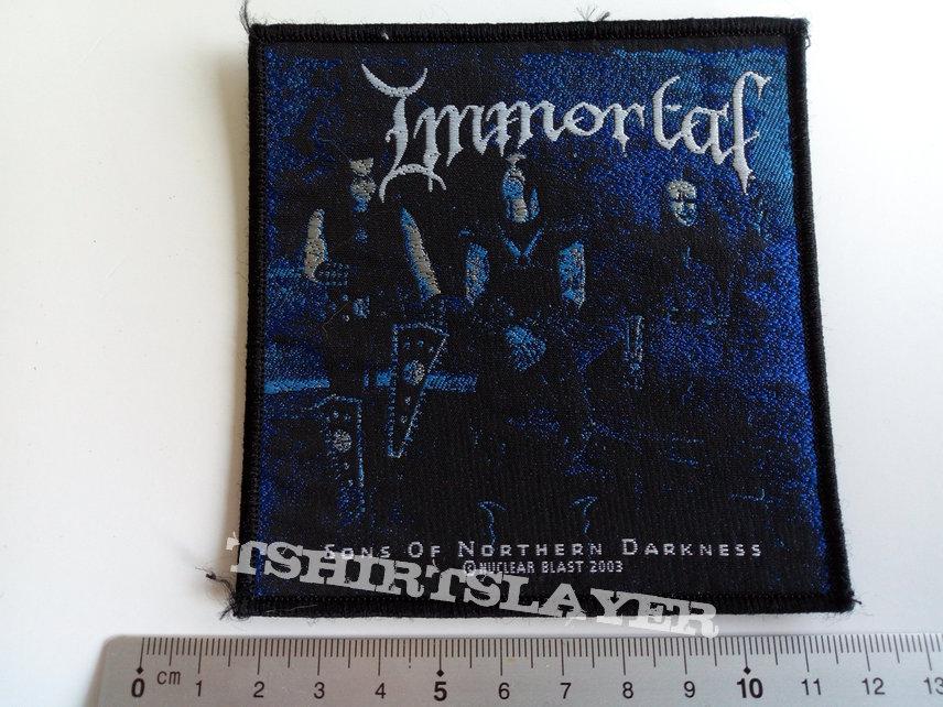 Immortal patch i30 - 2003 --9X10  cm