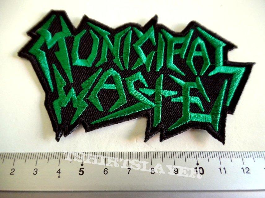 Municipal Waste shaped patch m231