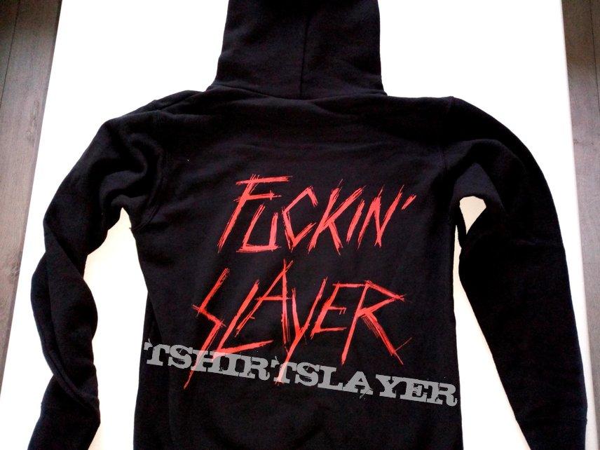Slayer hoodie fuckin slayer off. merchandise + backprint size M