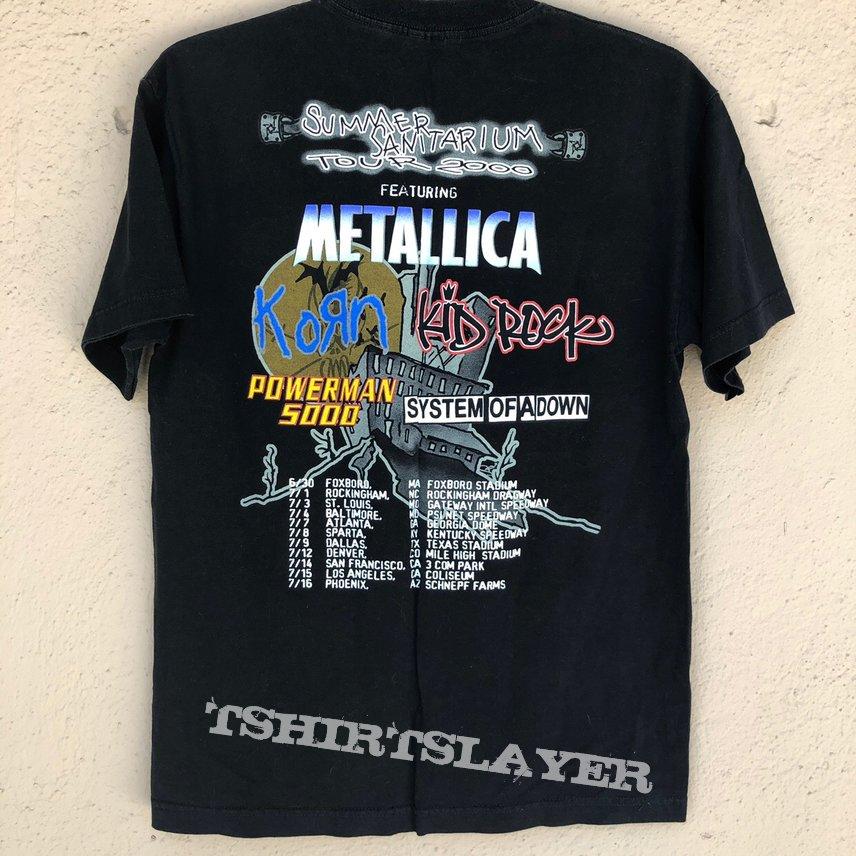 Metallica 2000 tour