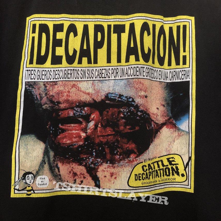 Cattle Decapitation shirt